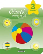 Napraforgó Oktató matricák - Formák (3 éveseknek)