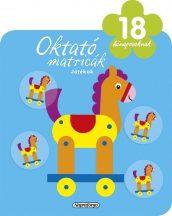 Napraforgó Oktató matricák - Játékok (18 hónaposoknak)
