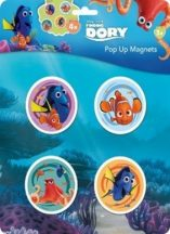 Napraforgó Disney: Dory - pop-up mágnes
