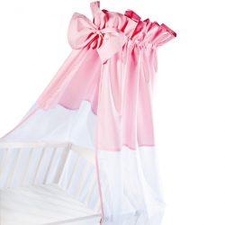 Klups univerzális baldachin kiságyra - Pink