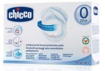 Chicco Antibakteriális melltartóbetét abszorbenssel 60db (eldobható)