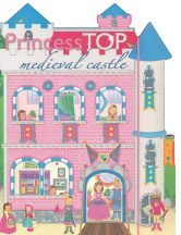 Napraforgó Princess TOP - Medieval castle (pink)