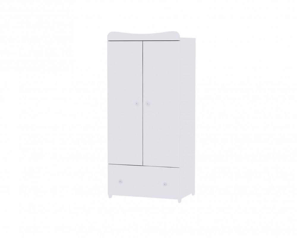 Lorelli Exclusive 2 ajtós szekrény - white