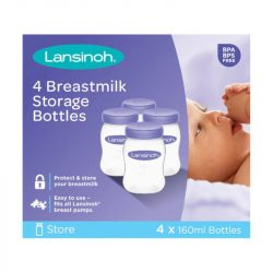 Lansinoh anyatejtároló 160 ml 4 db