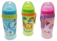 Baby Care Clip N Go csepegésmentes itató - 360 ml - Zoo