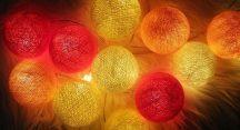 CBL lámpa 20db izzóval - citrus