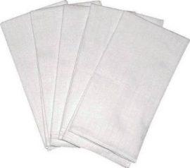Scamp fehér textilpelenka 5db