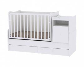 Lorelli Trend PLUS kombi ágy 70x165 - White - Fehér