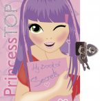 Napraforgó Princess TOP - My book of secrets (pink)