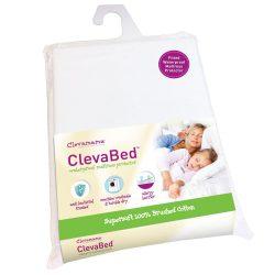 Clevamama matracvédő gumis lepedő 2 személyes ágyra 150x200