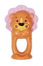 Baby Care csörgő-rágóka - Lion / Oroszlán