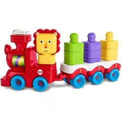 Fisher Price Mini építők dzsungel vonat