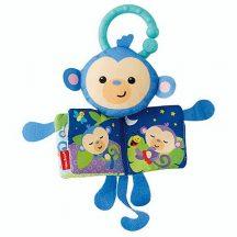 Fisher Price Állatos puhakönyv - majom