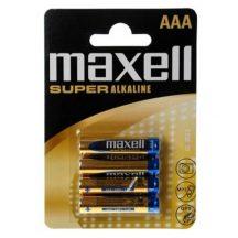 Maxell Szuper alkáli vékony ceruza elem R03 AAA 4db