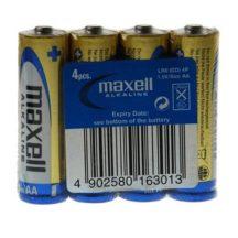 Maxell Alkáli ceruza elem LR6 4db