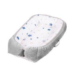 Babaszoba  Textil  Ágynemű Albero Mio babafészek - szürke - Babakocsi Futár f4cb45c304