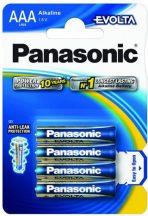 Panasonic Evolta AAA 1,5V vékony ceruza elem 4db