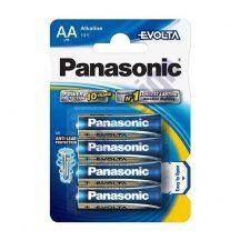 Panasonic Evolta AA 1,5V ceruza elem 4db
