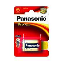 Panasonic Pro Power 9V szupertartós elem
