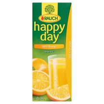 Happy Day 100% narancslé szívószálas 0,2L