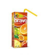 Bravo 50% multivitamin szívószálas 0,2L