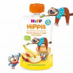 HIPP Hippis Alma-banán-őszibarack keksszel 100g