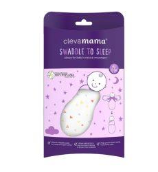 Clevamama pocaklakó pólya 0-3hó - szürke