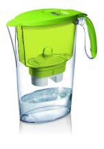 LAICA Clear Line zöld vízszűrőkancsó (1 Bi-Flux univerzális szűrőbetéttel)