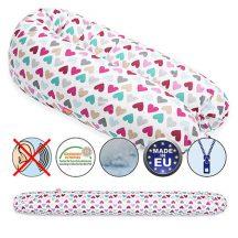 Scamp szoptatós párna vászon ColorfulHeart standard