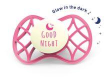 Nuvita Air.55 Cool! éjszakai cumi védőkupakkal 6hó+ - Glow Marsala - 7085