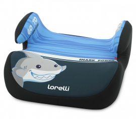 Lorelli Topo Comfort autós ülésmagasító 15-36kg - Shark light-dark blue 2020
