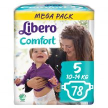 Libero Comfort 5 Maxi pelenka 10-14kg 78db