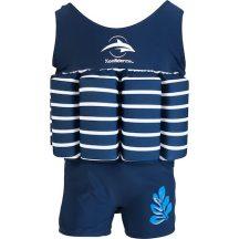 Konfidence Floatsuit úszóruha Blue Stripe 1-2év