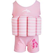 Konfidence Floatsuit úszóruha Pink Stripe 1-2év