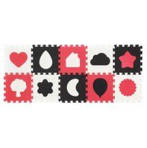 BabyOno szivacs puzzle - formák 10db-os