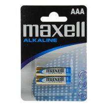 Maxell Alkáli vékony ceruza elem LR03 2db blister