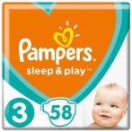 Pampers pelenka Sleep&Play VP  S3 58