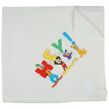 Asti Disney Mickey és barátai textil tetra pelenka 70x70cm - fehér