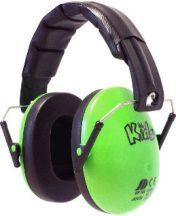Edz Kidz - gyerek hallásvédő fültok - zöld