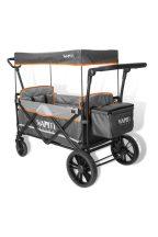 Wapiti Wagon extra strandkocsi szürke, narancs díszcsíkkal