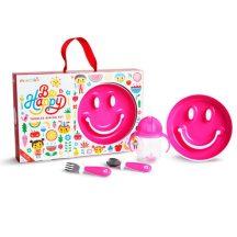 Munchkin Be Happy étkészlet - pink