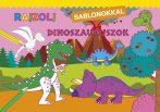 Napraforgó Rajzolj sablonokkal - Dinoszauruszok