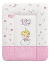 Lorelli Softy pelenkázó lap puha 50x70 - Pink