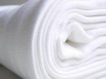 Babaház Textilpelenka 10 db-os fehér 70x70